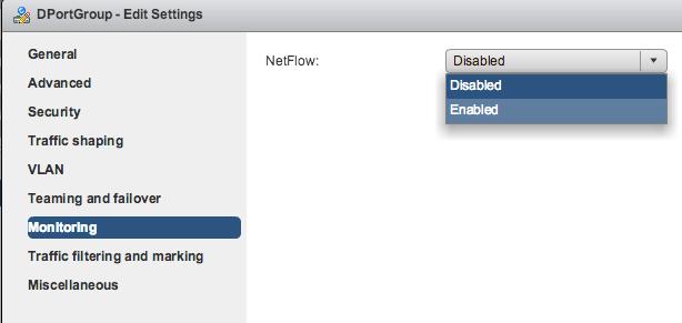 4 7  NetFlow Export Configuration