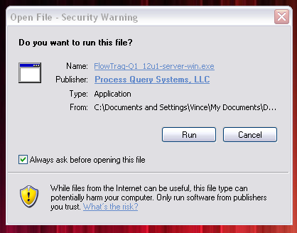 and install jre 1.5+ for mac